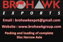 Harrow Disc Parts