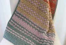 Blankets and throws knit & crochet