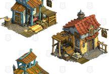 Toon buildings