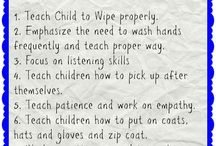 What a 3 year old should know for school
