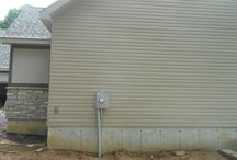 Norandex Vinyl Siding & Stucco   Saint Louis, MO. (63129) / This is a new construction job that features Norandex Vinyl Siding as well as stucco. This project is located in Saint Louis, Missouri.