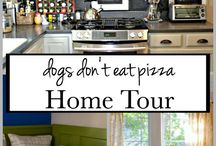 The DIY Bungalow | Home Tour / Check out the rooms in our 1929 bungalow and our first home!