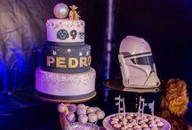 Fazendo a Festa GNT: Festa Star Wars / Pedro não queria saber de super heróis na sua festa de 9 anos. Escolheu um dos clássicos do cinema de ficção científica para ser o tema de sua festa, que surpreendeu a todos com cada detalhe.  Parceria: www.shopfesta.com.br