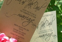 Invitation Inspiration / by Blueprint Paper