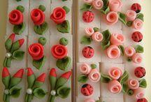 Flori fondant