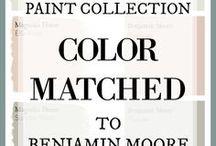 Joanna's paint colours
