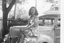 Women on cars