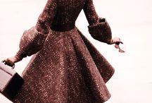 Encanto femenino vintage / Moda vintage