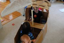 Kids: Cardboard ideas