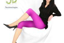 Capri Leggings für Damen / Tolle Auswahl an schönen Capri-Leggings - bestellbar in vielen Farben, DEN-Stärken und bis Größe 6XL