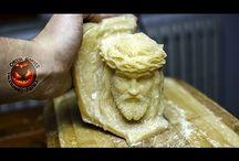 Cheese Sculpture!
