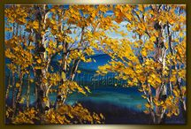 Autumn paintings