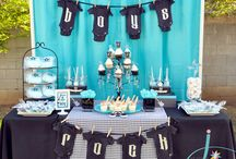 Rock n Roll baby shower / by Angelia P