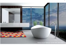 Modern / Modern, sleek, innovative- this is the new way to design in the 21st century. Add a pop of color to your sleek, mod room to brighten it up and make it fun yet chic.