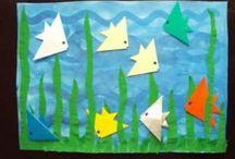 °‿•✿ Carta piegata - origami / Origami semplici da realizzare con i bambini.