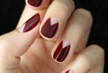 nail art mani monday chevron half moon nail tutorial
