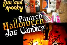 Halloween / Easy and fun Halloween Decorations