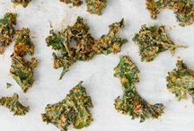 Healthy Living recipes / yummy kale chips