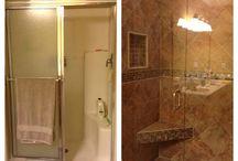 Bathroom redo / by Brenda Bailey