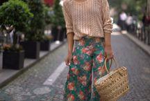 Sewing ideas / Split riding skirt