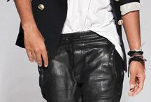 Men's Leather Fashion / Men in Leather