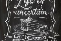chalkboards prints