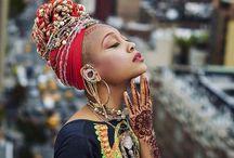 afrykanskie inspiracje street style