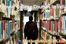13 Popular College Courses In India