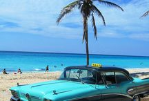 Turquoise Cars & Motorcycle & Airplanes & Bikes & Caravans