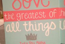 Zeta Tau Alpha / by Emily Kuelbs