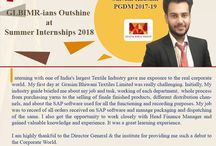 GLBIMR-ians score their dream internships!