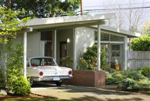midcentury modern exterior architecture / by Linda Peterson Design In My View
