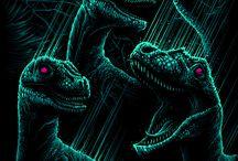 Dinosaurs/Reptiles/Pre-Historic Fauna