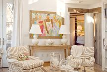 Beachy Pretty rooms / by Sonia Lavergne