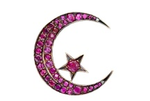 Baubles   Moon & Stars / A collection of wonderful celestial jewelry and trinkets. If you like a piece and would like to purchase it, click the image or link to see if it's still available. / by Sandy Weinstein