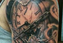Uhr-tattoos
