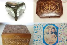 Vintage Boxes, Tins, Baskets, Storage Solutions Large Scale and Small / Storage has always been an issue, and over the years we've come up with some ingenious solutions.  Mid Century and Vintages Boxes, from blanket boxes to crates, to Tins for candies, crackers, cookies, tell a story of everyday lives!  Creative, colorful, and durable items have always been must haves for shelves, cabinets and the garden.  This is the place to show off your boxes, tins, baskets and storage solutions!