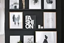 Black Wall Ideas