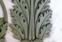 sculptured foliage