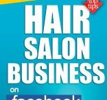 Books for hair / Learn How To Advertise Your Hair Salon Business On Facebook And Twitter - How to Make A Six Figure Income Doing Hair and much more for hair!