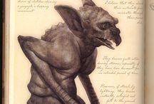 Monsters & Creatures - Gargoyles