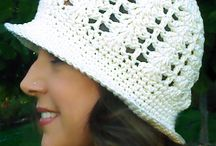 crochet beanies / needle craft
