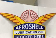 AEROSHELL - VINTAGE AUTOMOBILIA / Visit our website to see our full range of automobilia. Stock changes regularly, so check back for new products: http://mattsautomobilia.co.uk