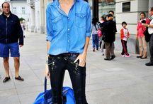 Camisa jeans - maneiras de usar