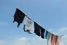 Laundry / wasgoed /dutch skies