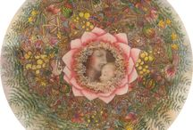 Mandaláim / Fertility mandala; Termékenység Mandala