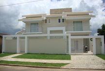 modelos de casas e muros