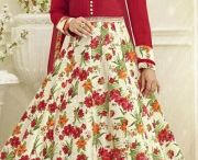 New arrivals - Style-Anarkali Suit / New arrivals in Style-Anarkali Suit, Dupatta-Chiffon,Fabric-Bhagalpuri Silk,Shantoon,Work-Butta Work,Lace,Resham,Printed! http://www.nallucollection.com/