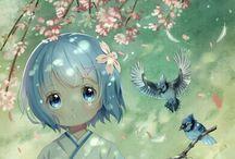 Anime Manga fiori di ciliegio