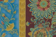 """Alexandria & Legacy by Timeless Treasures / """"Legacy"""" (old) & """"Alexandria"""" (2016) Collections by Chong-a Hwang for Timeless Treasures Fabrics"""